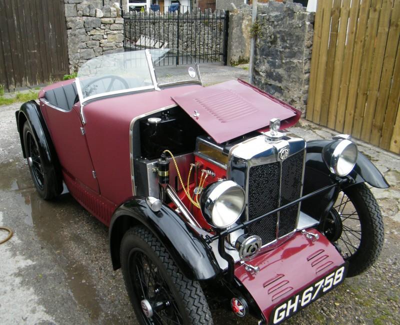 GH 6758 1930 MG M Type Tony Gamble June 2012