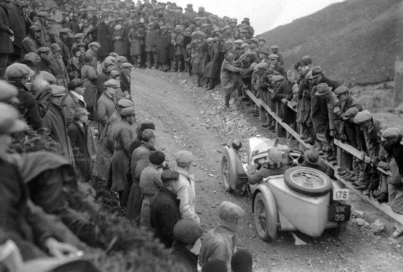 Midget VK 39 Midget Comp no 178 1930 Lands End W H H Jebb LAT B3481