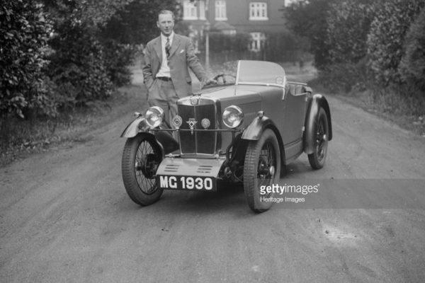 MG 1930 Robinson MG MG Midget c ws
