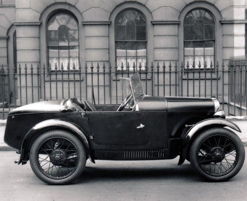 LATplate Red 7263 1930 Mulliner Austin Seven Special